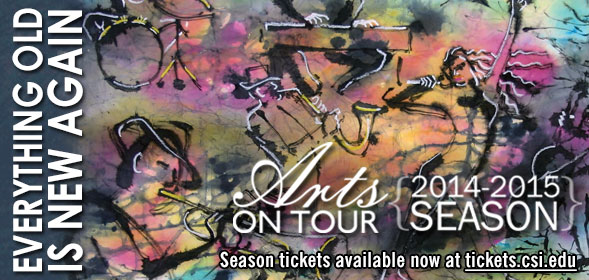 Arts on Tour 2014-2015 Season Tickets are available now!