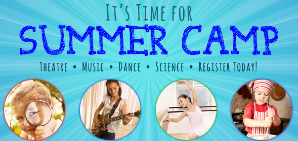 It's time for Summer Camp!  Register today! Click for details.