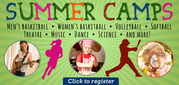 Summer Camps - Athletic, Fine Arts, Community Education - Register today!