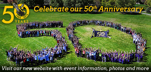 Celebrate our 50th Anniversary - Visit our new website with event information, photos and more