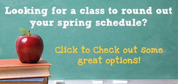Looking for a class to round out 