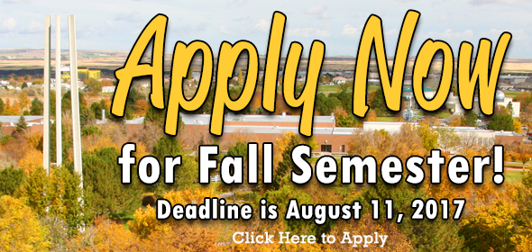 This links to the application page for students wanting to attend the Fall 2017 Semester