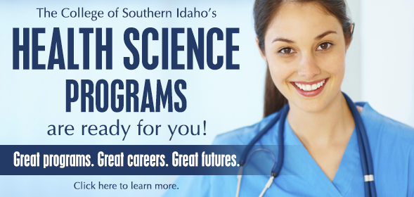 Learn more about the Health Science programs offered by CSI - Click here